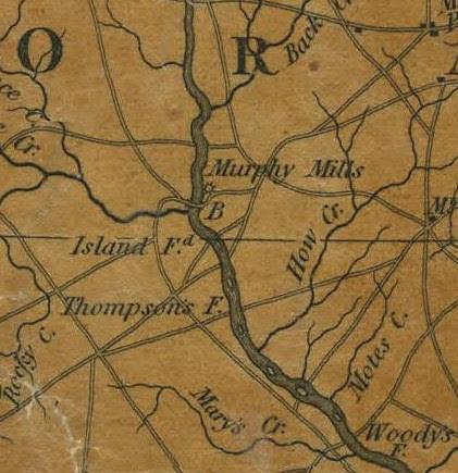 Island Ford 1833