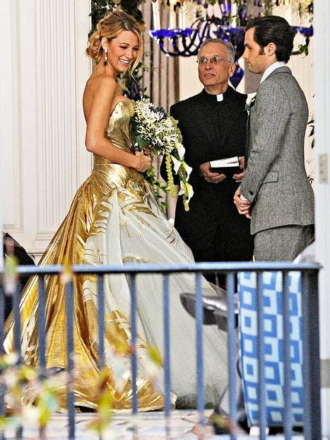 PICTURE: See Blake Lively in a Wedding Dress!   One Day