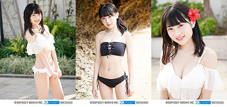 Yanagawa Nanami - fotos extra para su Photobook unbalance