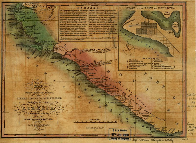 File:Map of West Coast of Africa 1830.jpg