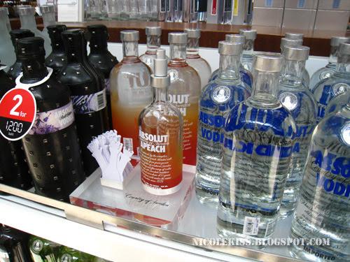 vodka peach spray