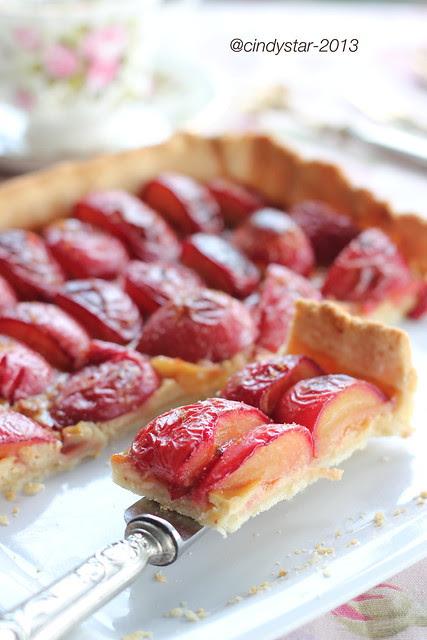 tarte aux quetsches/prunes