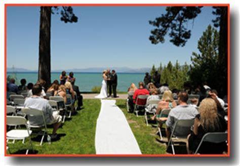 Regan Beach Weddings   Lake Tahoe Wedding Venue
