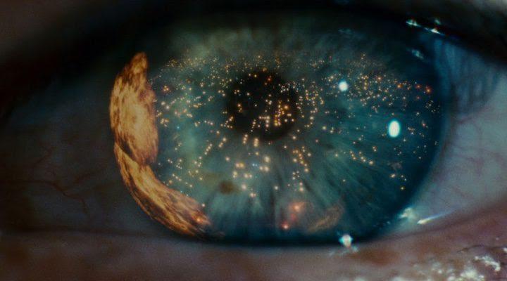 Imagen icónica del ojo de 'Blade Runner'