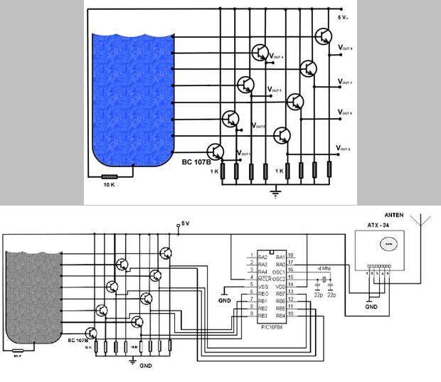 PIC16F84-rf-control-nước-tank-RF-truyền-atx34x-arx34