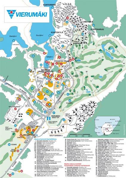 Vierumäki Kartta