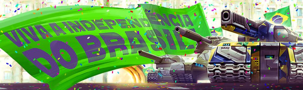 Evento de Independência Tanki Brasil! 07/09/2017