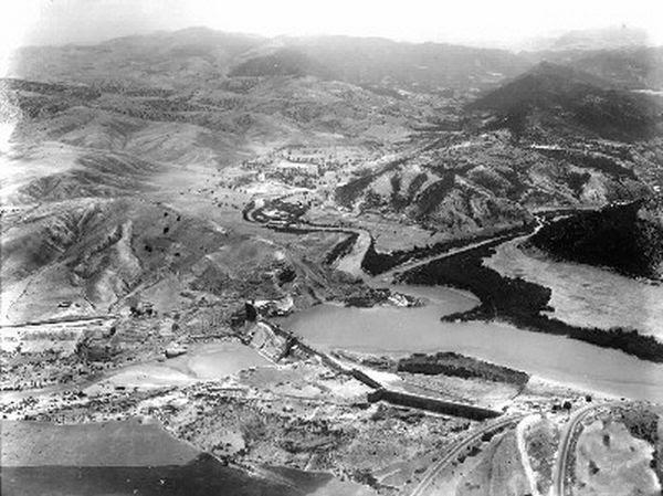 Aérienne-barrage-oued-Fergoug-confluent-oued-El-Hammam,