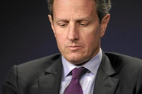 El secretario del Tesoro de EEUU, Timothy Geithner.