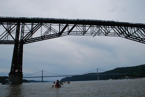 The people on the bridge
