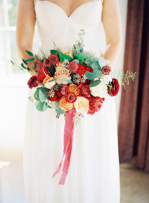 Warm Red Gold Fall Wedding Ideas Gold Decor 100 Layer Cake
