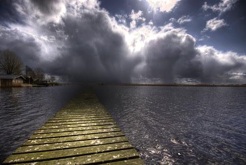 It's still sunny at the lake...