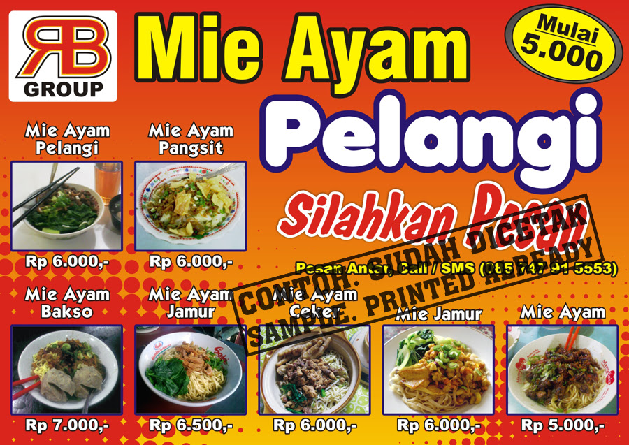 Mie Ayam Pelangi by Sopian on DeviantArt