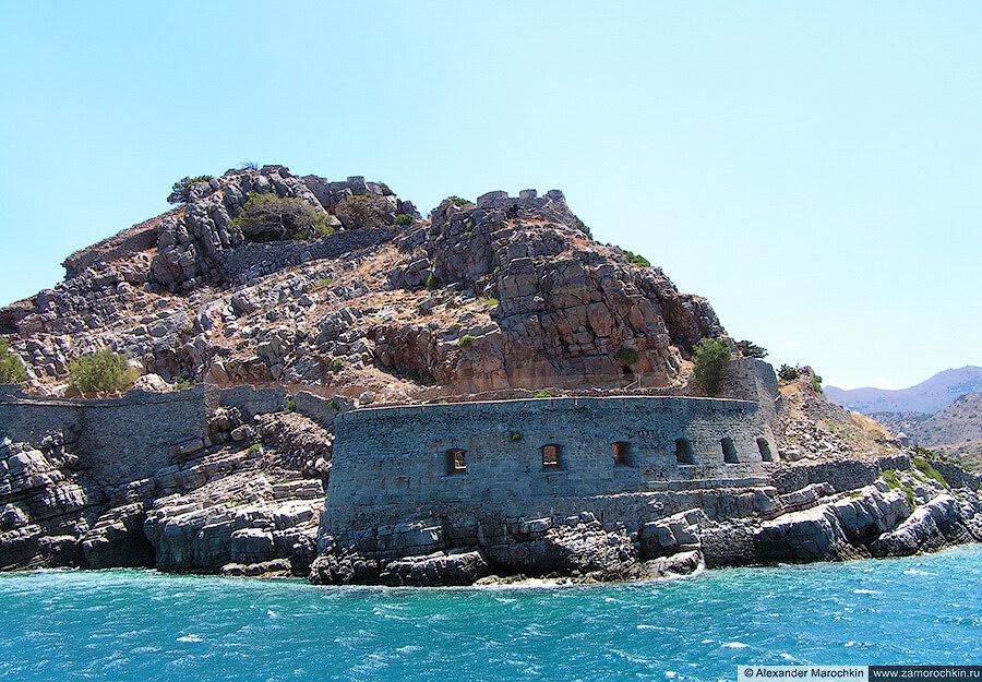 Северный бастион острова Спиналонга