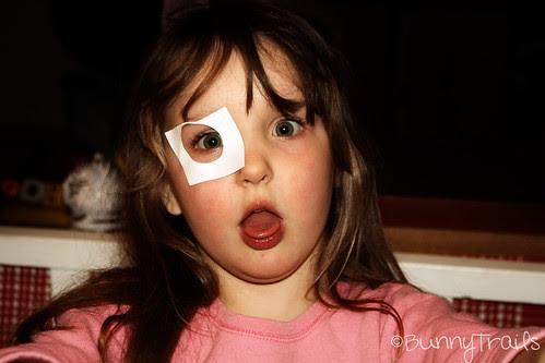 patch eye girl