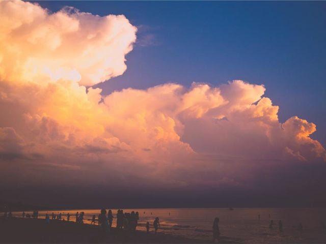 Cuando las nubes me recuerdan el cielo... ¿a quién no le ha pasado?