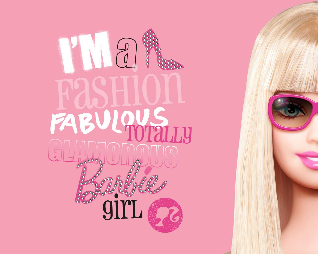 キュートポップバービー人形barbiepcデスクトップスマホ 壁紙