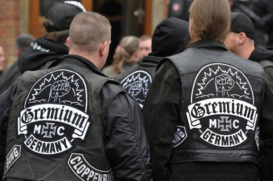 Den tyske rockerklub Gremum MC har fået en støtteklub i Danmark. (Foto: Carmen Jaspersen/dpa)