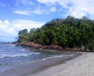 Praia de Itamambuca, Ubatuba (Foto: Felipe Kyoshy)