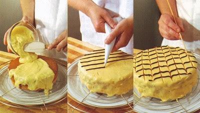 come decorare a filo,decorare a filo,come decorare una torta,decorare una torta,