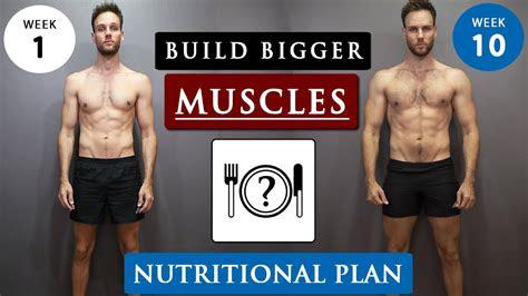 gain muscle  skinny guys full diet plan