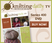 Buy Knitting Daily TV Series 400 - Click Here