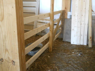 Barn Animal Stall North Wall & Gate