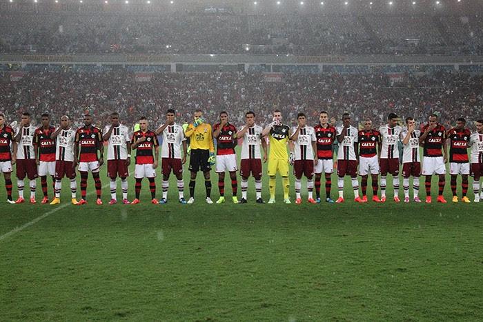 Flamengo x Fluminense em protesto contra a Ferj