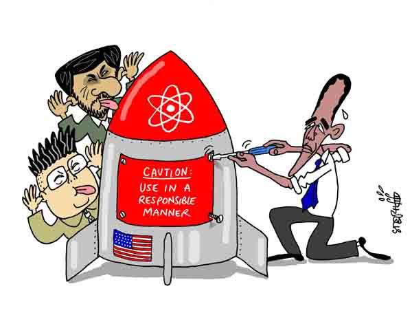 Cartoon by Stephane Peray