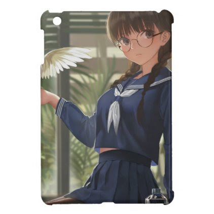 Lil Sis Waits For Your From Work iPad Mini Case