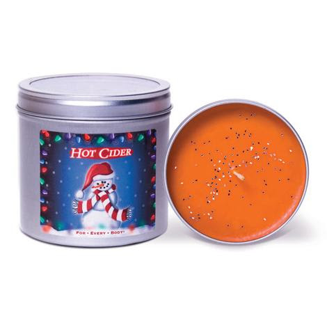 HOT CIDER - Christmas Lights Range 13oz Candle in Tin ...