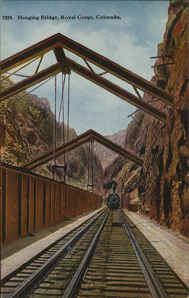 Royal Gorge_Hanging Bridge_tatteredandlost