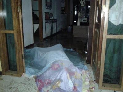 Idosa morreu ainda no local do crime (Foto: Ubatã Notícias)