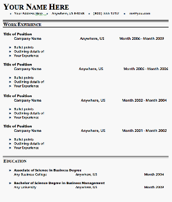 simple resume format for fresher. cv format for freshers. simple