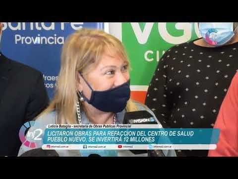 Licitaron Obras para el Centro de Salud de Pueblo Nuevo