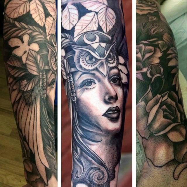 Mother Nature Half Sleeve By Canyon Webb Tattoonow