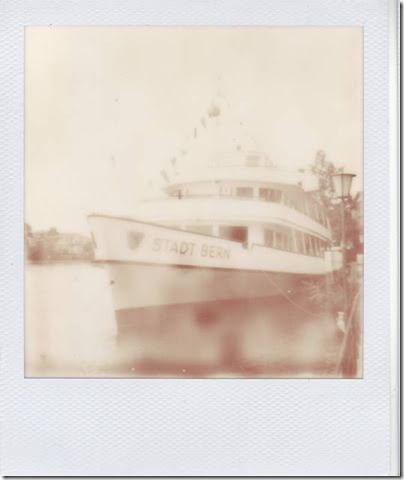 Stadt Bern in der Stadt Thun - PX 600 Monochrome by the impossible project I