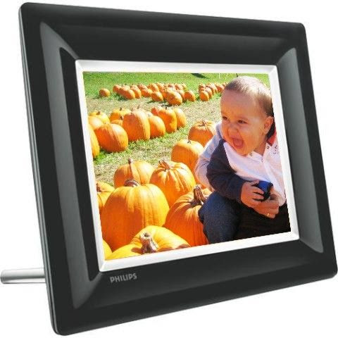 Philips 8ff3fpb27 Lcd Photo Frame 8 Color Display Built In