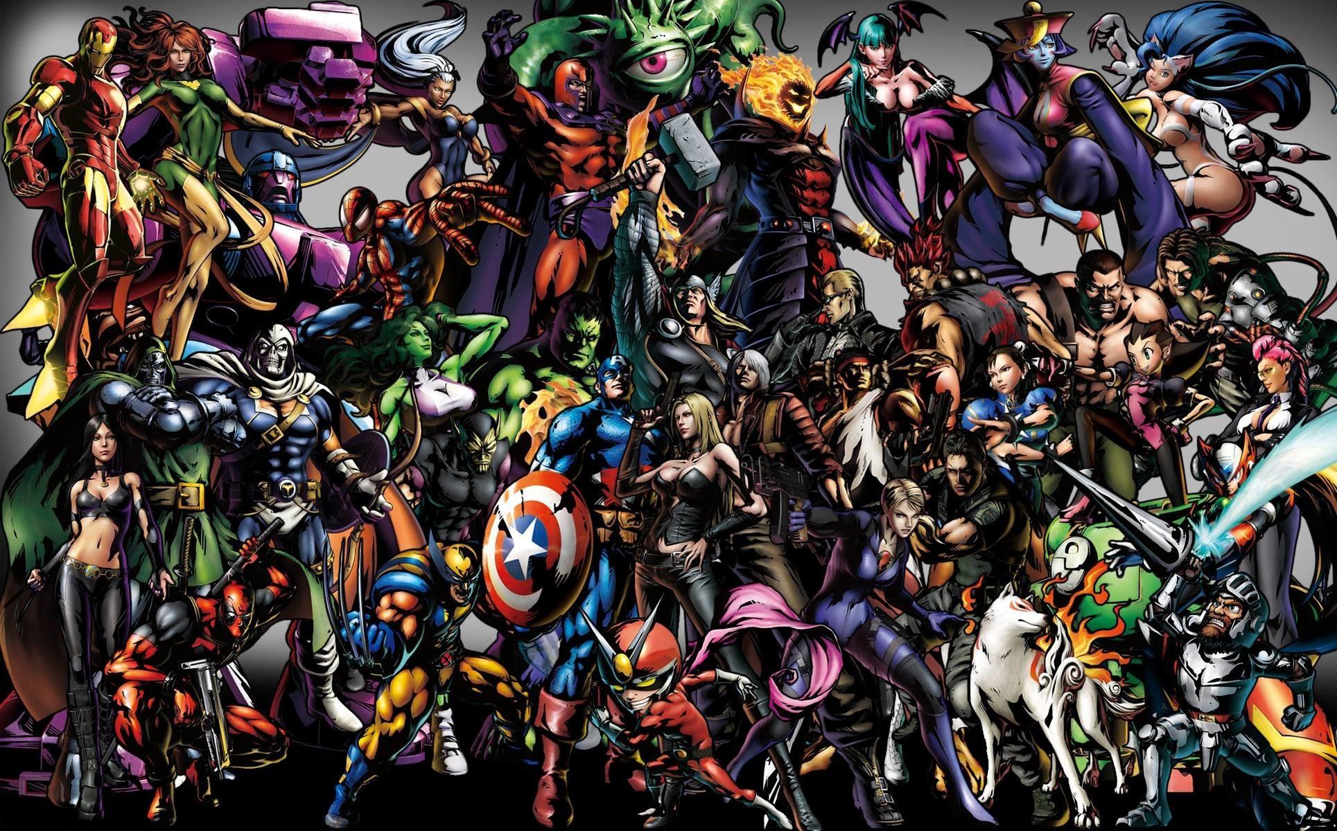 Marvel Vs Capcom 3 Wallpaper 71 Images