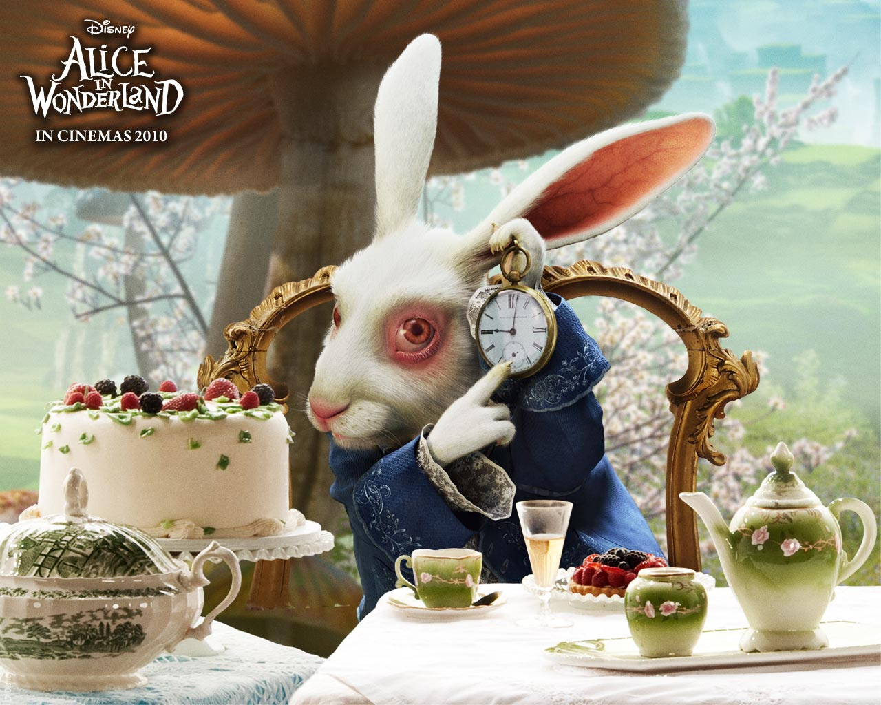 Alice In Wonderland Movie Hd Wallpapers And Screensaver Leawo