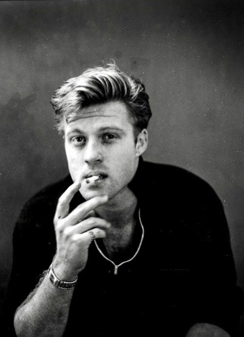 theniftyfifties:  Robert Redford photographed by Ron Greene, 1959.