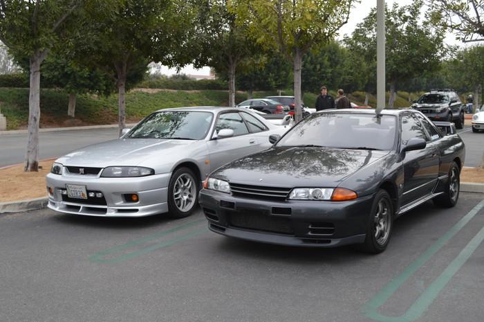 Nismo GTR BNR32 and R33 GTR Skyline