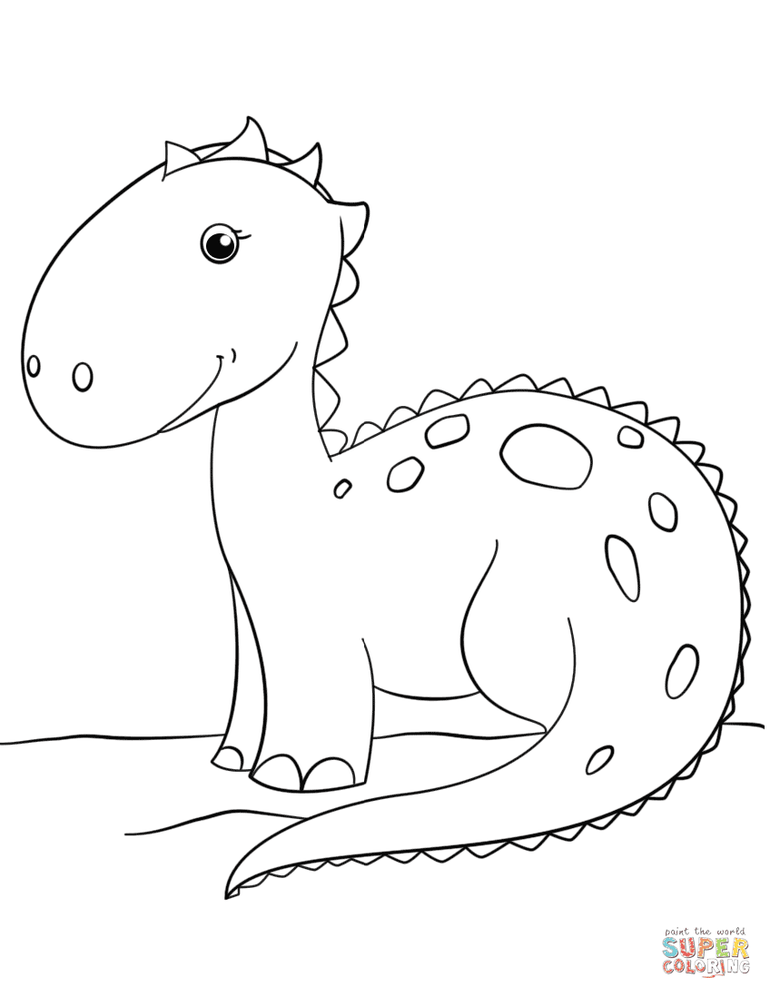 44 Coloring Pages For Dinosaurs Printable Pictures