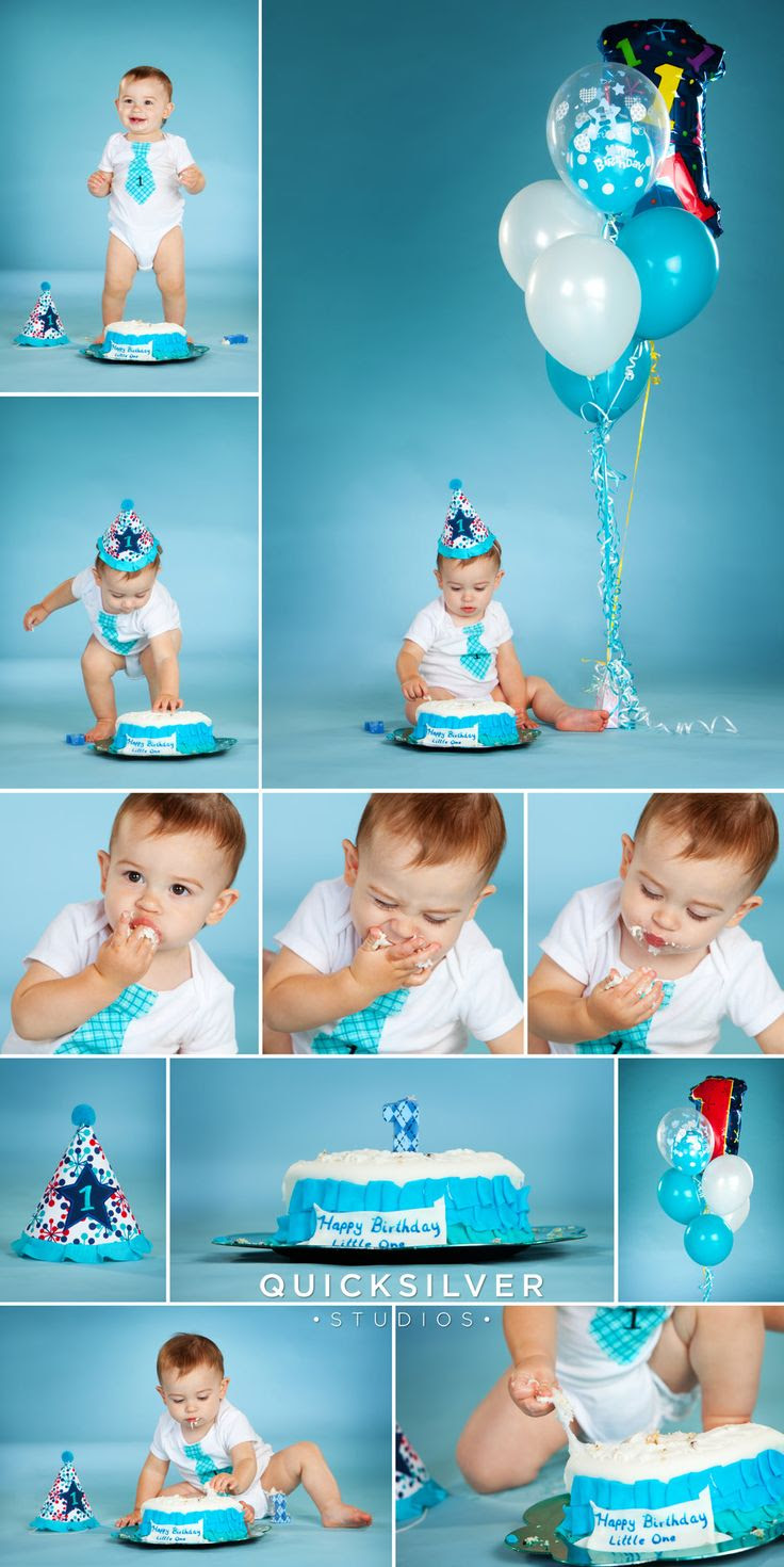 First Birthday Cake Smash Photo Session 1st B Day Cake Smash