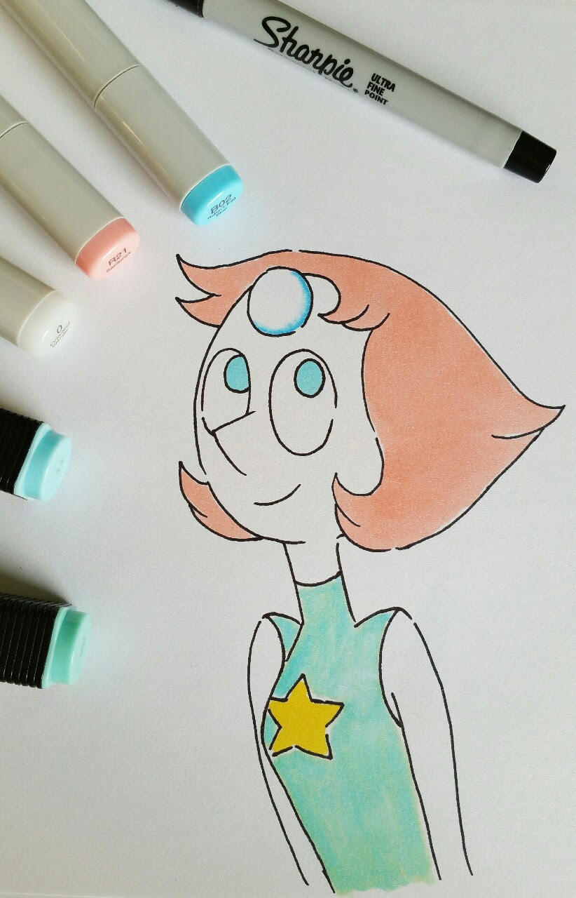 Copic and Tiger Twin marker Pearl