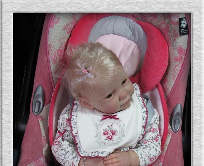 Little Girl Cute Reborn Baby Car Seats - Amashusho ~ Images