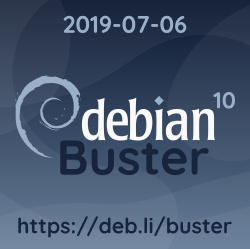 """Debian 10 """"buster"""" è stata rilasciata"""