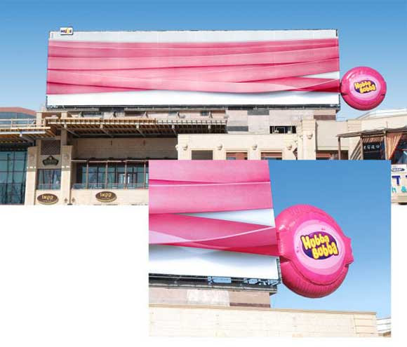 Hubba Bubba billboard