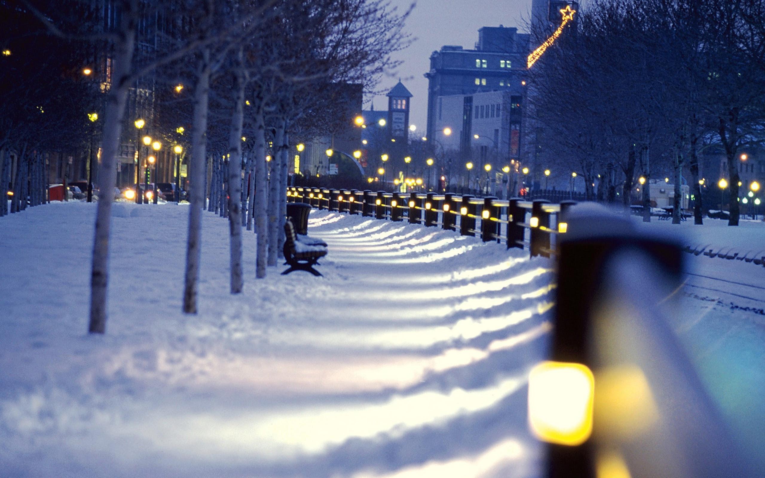 City Winter Wallpaper 63 Images