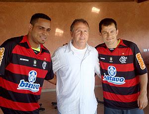 Val Baiano, Zico e Correia Flamengo